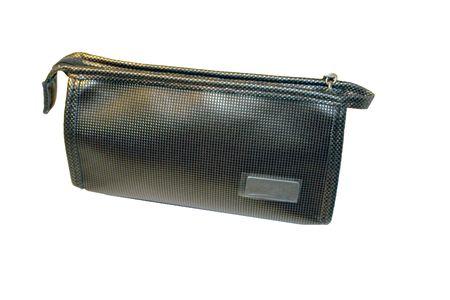 Ladies handbag for cosmetics photo