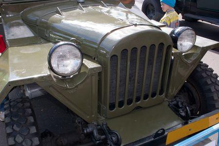 voiture ancienne: Fret, voitures anciennes Banque d'images
