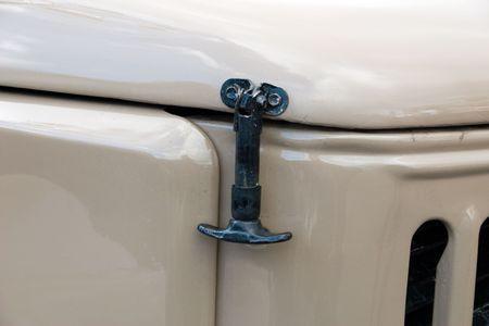 voiture ancienne: Les frais de transport, voitures anciennes Banque d'images