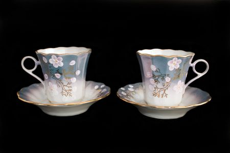 cup, saucer, porcelain Stock Photo - 2077996