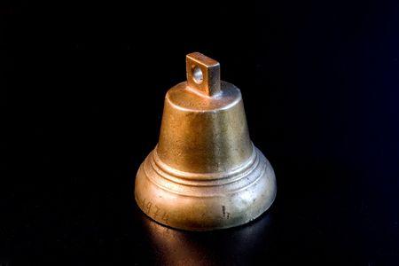 handbell: handbell, souvenir, copper, single, metal Stock Photo
