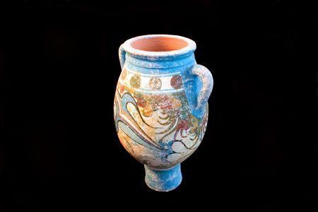 antica grecia: antico vaso, Grecia, ceramiche Archivio Fotografico