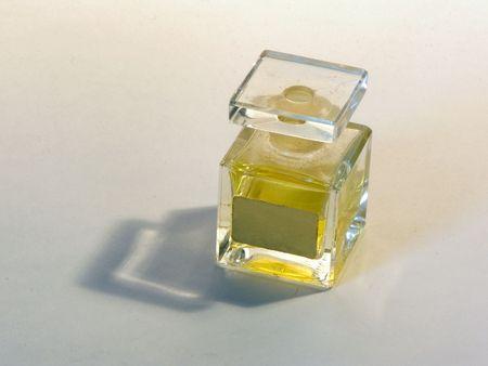 Bottle with spirits, cosmetics Standard-Bild