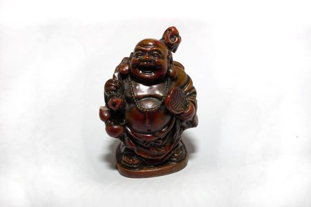 age-old figurine of Buddha little size