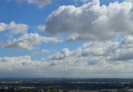 Cloudy San Gabriel Valley Stock fotó