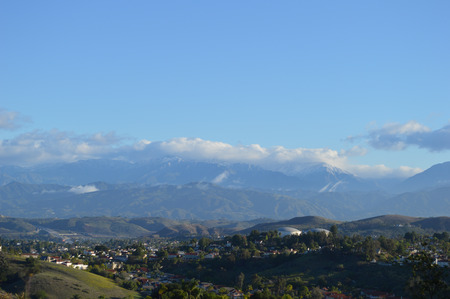 Beautiful San Gabriel Valley and Mountains photo