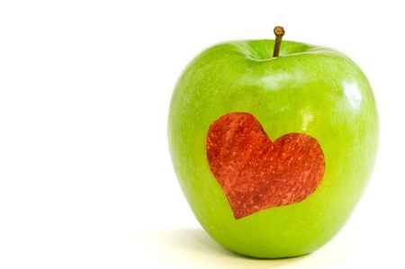 apple love Stock Photo - 12440349