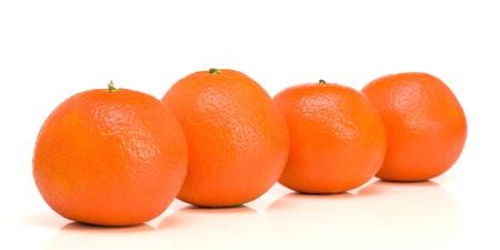 Four mandarins photo