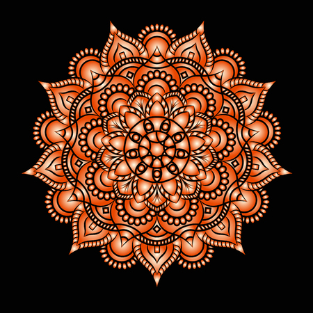 Wedding invitation or card . Flower Mandala . Vintage decorative elements. pattern,Islam, Arabic, Indian, turkish, pakistan, chinese. Round Ornament Pattern, vector Illustration