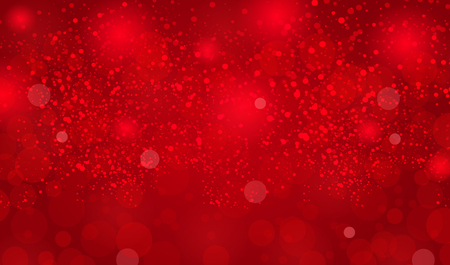 Abstract background with snowflakes and Merry Christmas text