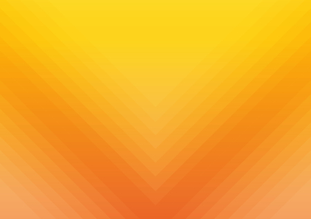 Orange abstract gold background yellow color, light corner spotlight, faint orange vintage background. Colorful.  Illustration