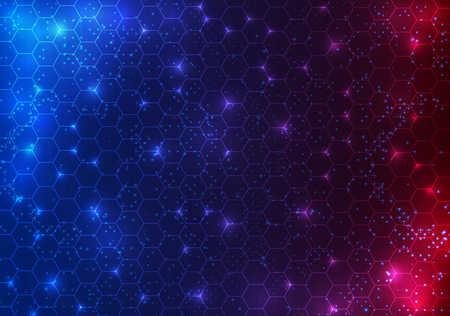 abstract circle sci fi futuristic technology innovation concept background. Vektorové ilustrace