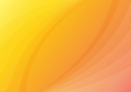 Orange abstract gold background yellow color, light corner spotlight, faint orange vintage background. Colorful.