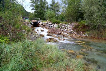 source: Source Poiano Secchia river