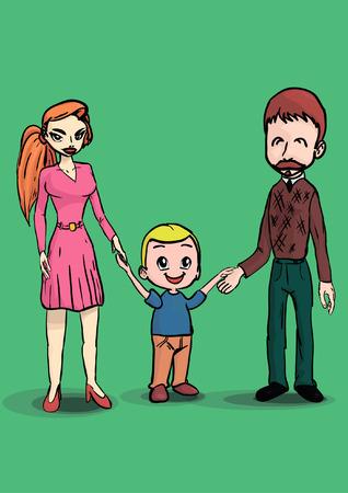 hijos: Familia Vectores