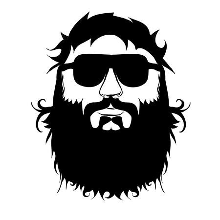 beard: beard Illustration