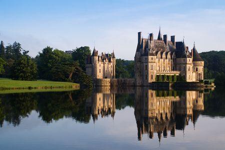 ancient castle, blue sky, Europe Stock Photo - 6715060