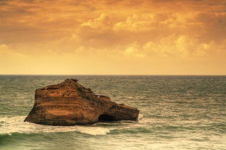 beautiful ocean, seacape, sky and water Stock Photo - 6714206