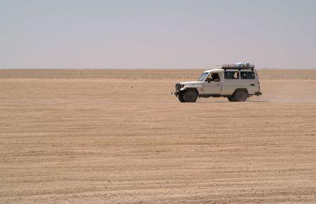 jeeps in desert photo