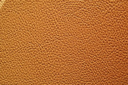 macro photography:  brown leather, texture background, material Stock Photo