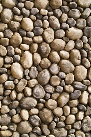 smooth stones: wall stones