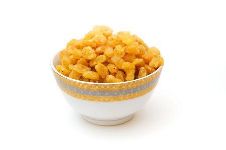 a bowl of raisins photo