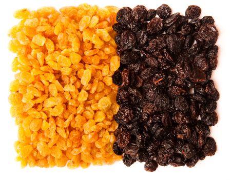 black and yellow raisins (sultana), dried fruits Stock Photo - 6718847
