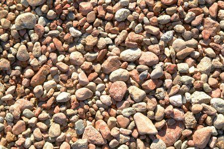 beach pebbles photo