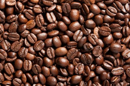 brown coffee, background texture, close-up photo