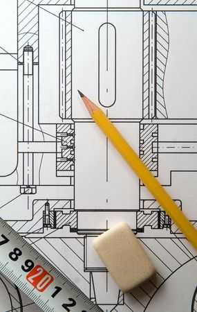 engineering drawing: drawing