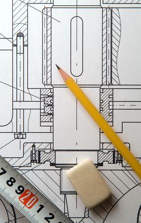 tekening  Stockfoto