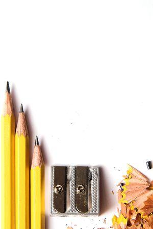 sacapuntas: lápiz