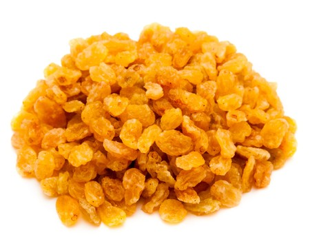 yellow raisins (sultana), dried fruits photo