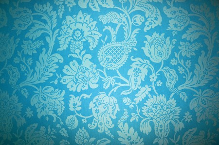 blue silk: wall paper, texture background, vintage
