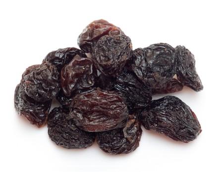 pasas: pasas de uva negras (sultana), frutos secos  Foto de archivo