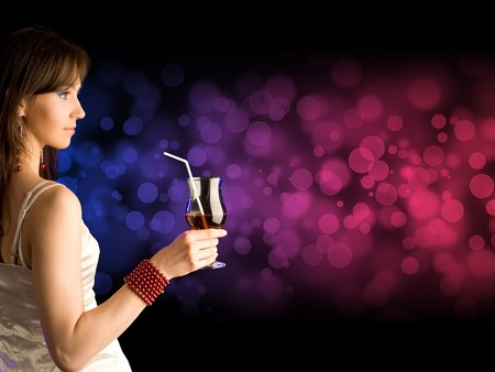 beautiful girl with 