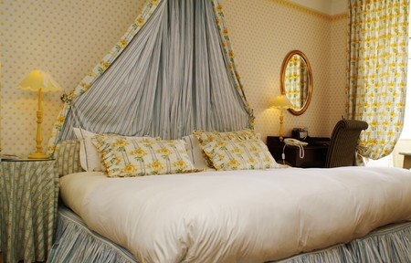 double beds: room