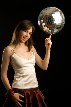 disco girl photo