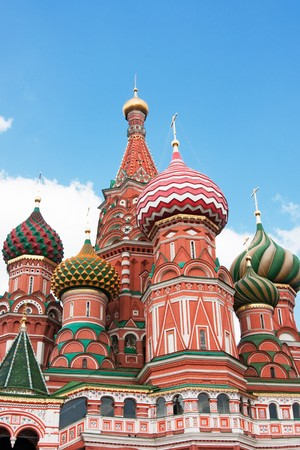 St. Basil's Cathedral in Moscow on red square Stock Photo - 7240025