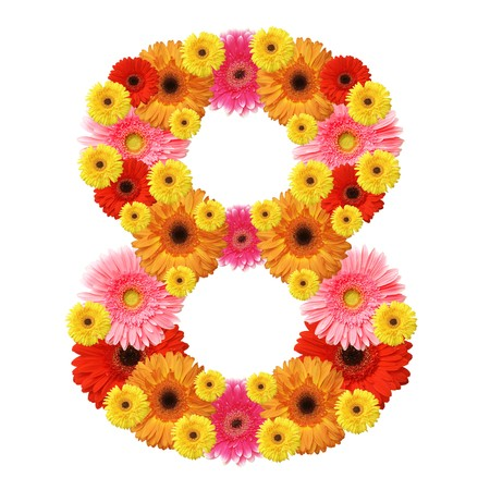 8, arabic numeral