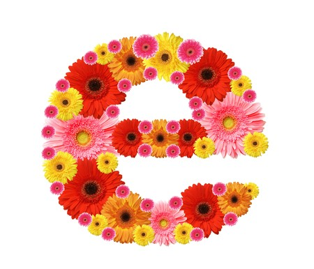 abc, flowers photo