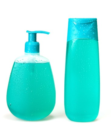 liquid soap, gel, shampoo Stok Fotoğraf