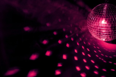 lighting effect: disco ball Stock Photo