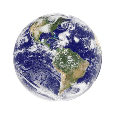 globe  the terrestrial ball: earth