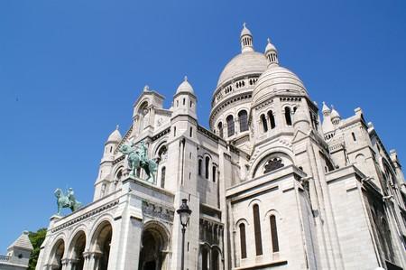 montmartre: Sacre Coeur, Montmartre, Paris, France Stock Photo