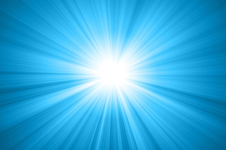 abstract sun with rays Stock Photo - 7733123