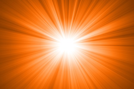 abstract sun with rays Stock Photo - 7733124