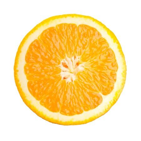 orange slice: orange