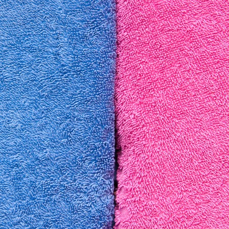 convolute: color convolute towels Stock Photo