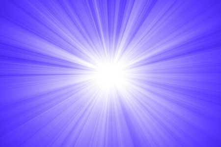 abstract sun with rays Stock Photo - 7931721